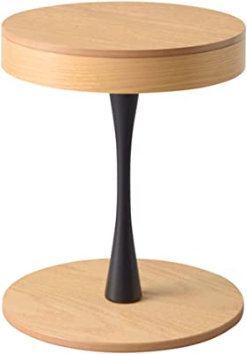 東谷(Azumaya-kk) サイドテーブル ナチュラル 幅40×奥行き40×高さ49(cm) サイドテーブル PT-617