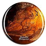 Weekino Parque Nacional del Río Subterráneo de Filipinas Palawan Imán de Nevera 3D de Cristal de la Ciudad de Viaje Recuerdo Colección de Regalo Fuerte Etiqueta Engomada refrigerador