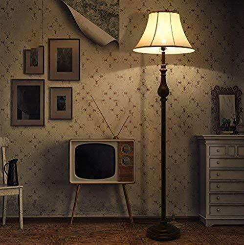 CLJ-LJ Angeführt Kreative Einfache Schlafzimmer Wohnzimmer Restaurant Studie Retro Eisen Vertikal Stehlampe, Eye-Pflege Vertikal-Fußboden-Licht