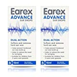 Earex Advance Ear Wax Removal Drops- Dual Action 15Ml 2 Pack