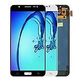 Retina LCD Digitalizador Ajuste para Fit For Samsung Galaxy J7 LCD Pantalla 2016 J710 SM-J710F J710M J710H J710FN Pantalla LCD con Pantalla Táctil Digitalizador (Color : Black)