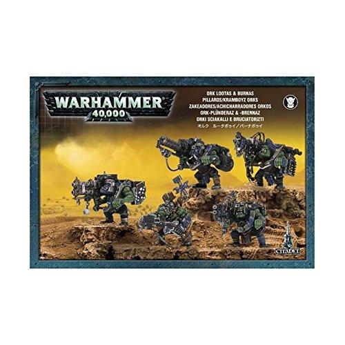 GAMES WORKSHOP 99120103014' Warhammer 40K Ork Lootas and Burnas 2008 Action Figure