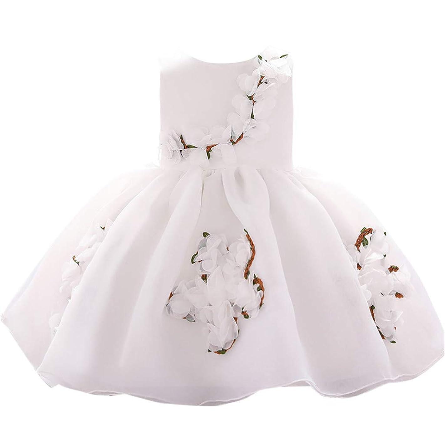Diufon Girls Dress, Children's Sleeveless Dress Skirt Sweet Flower Princess Dress Wedding Tutu Dress