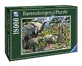 Ravensburger - Animales en la selva, puzzle de 18000 piezas (17823 0) , color/modelo surtido