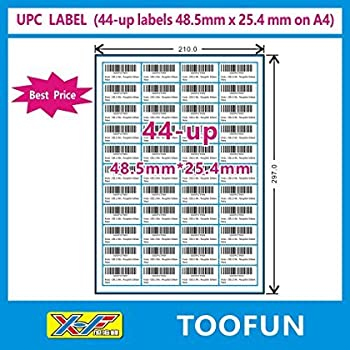 Easy Peel Removable Self Adhesive Labels printed White Labels A4 Sheets 21up