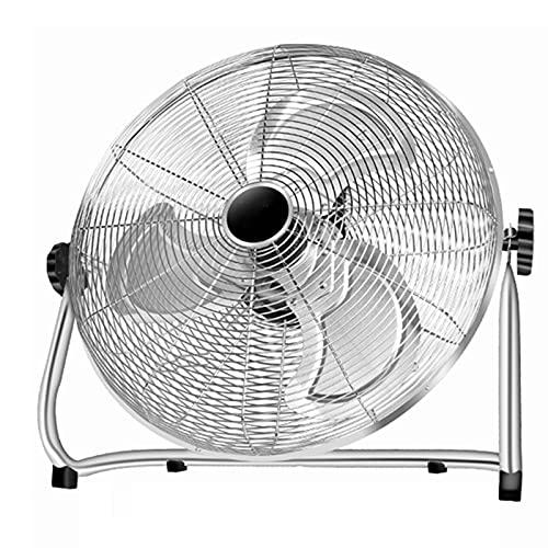CABB Ventilador De Piso - Ventilador Industrial, Ventilador De Escritorio Silencioso, Ventilador Eléctrico Industrial Resistente De Pie Potente Alta Potencia para Gimnasio Industrial Almacén