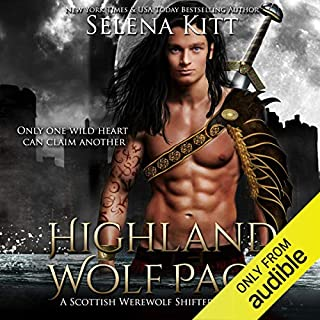 Highland Wolf Pact audiobook cover art