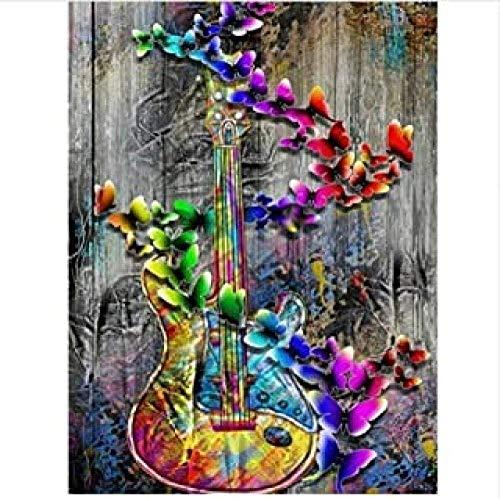 Abstract Gekleurde Viool Dier Volwassen Kinderen Puzzel Klassiek Creatief Houten Spel Woondecoratie Speelgoed Legpuzzel - 1000 Stukjes