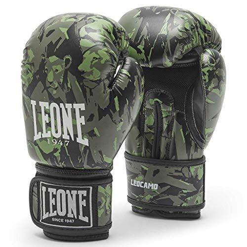 LEONE 1947 Guantes de Boxeo Leo Camo GN404J, 20 ml, Color Ne