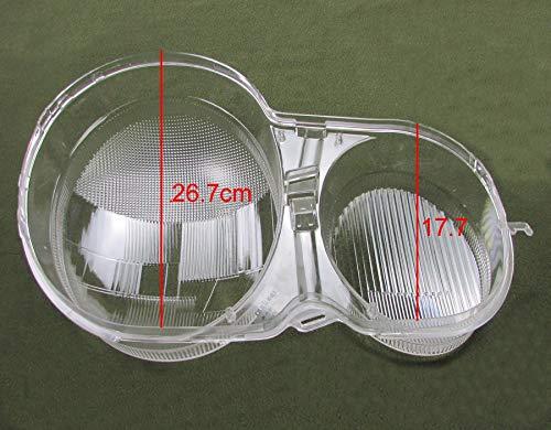 LSB-Scheinwerferabdeckung, Scheinwerfergehäuse gepasst for 1995-2003 Mercedes-Benz W210 E200 E240 E260 E280 Scheinwerfer Abdeckung transparenten Shell Scheinwerfergehäuse Lampshade Glaslinse