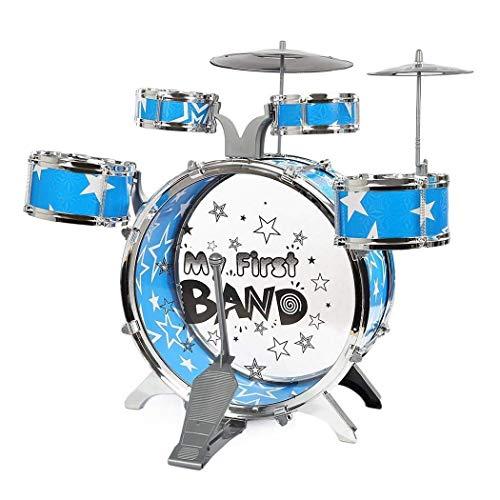 DYHA Juego De Batería De Simulación Infantil Fighting Jazz Musical Toys Tambores Y Percusión Puzzle De Educación Temprana Juguetes para Niños