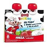 Pascual Yogur Liquido de Fresa - Paquete de 2 x 80 gr - Total: 160 gr