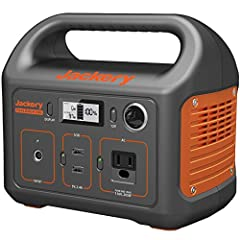 Founded in California in 2012, Jackery specializes in providing outdoor green power solutions for explorers. Jackery portable power station, power outdoors. QUIET GENERATOR & ECO-FRIENDLY CLEAN POWER: Jackery Explorer 240 is equipped with a 240 watt-...