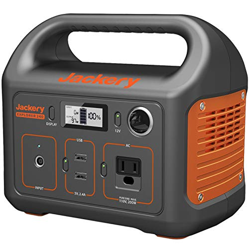 Jackery Explorer 240 240Wh Portable Power Station Generator $249.99