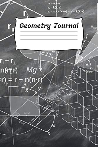 Geometry Journal: Dot Grid Journal for Geometry Drawing