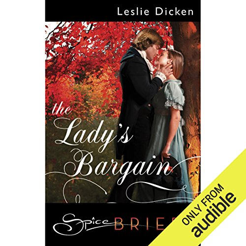 The Lady's Bargain audiobook cover art