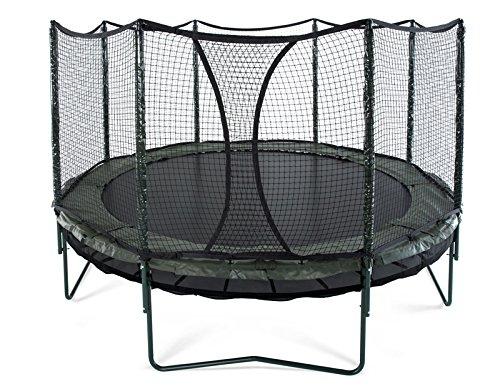 JumpSport 14' DoubleBounce | AlleyOOP Trampoline with Enclosure |...