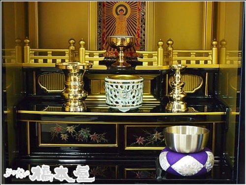 かんたん仏具セット、お東(浄土真宗大谷派)上置き仏壇用