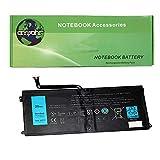 amsahr 427TY-02 Ersatz Batterie für Dell Type Tablet DXR10, 05F3F9, P12GZ1-01-N01, PGF3592A5A, 3.7V, 7695 mAh/29 Wh, 2 Cell schwarz