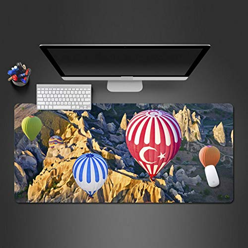 Anti-slip Air Balloon Warm Art Mouse Pad Snelle Waterdichte Rubber Mouse Pad Gamer Game Accessoire Toetsenbord Gamer Pad Game Gift 900 * 400 * 3 Mm