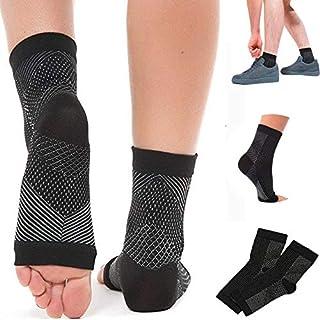 Dr.Cheol, Arthritis Socks,Ankle Support,Calcetines de Compresión Mujer y Hombre--3 Pares