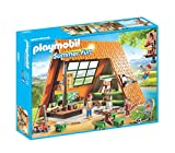 Playmobil Campamento de Verano- Camping Lodge Playset, Multicolor,...