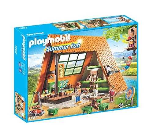 Playmobil Campamento de Verano- Playset, Miscelanea (6887)