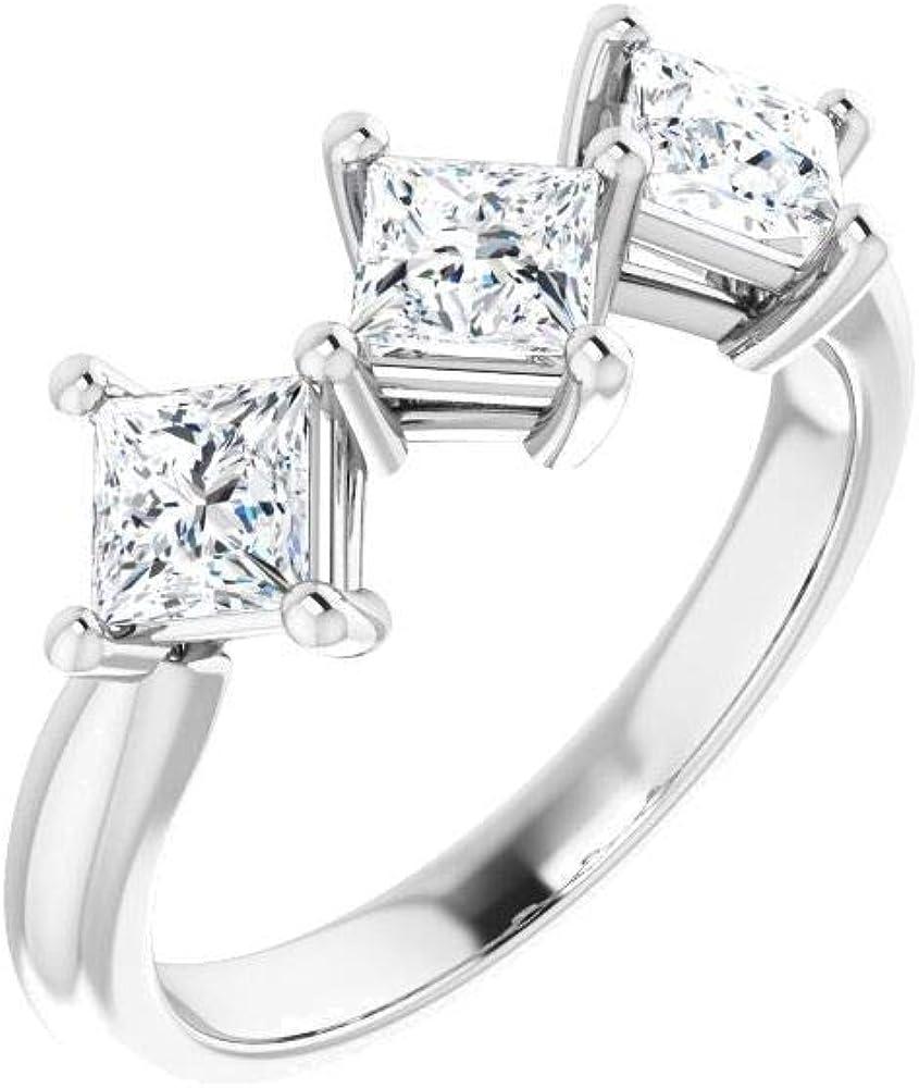 Bonyak Jewelry 14kt White Gold Max 62% OFF Sales results No. 1 Anniversary Ba CTW Diamond 16