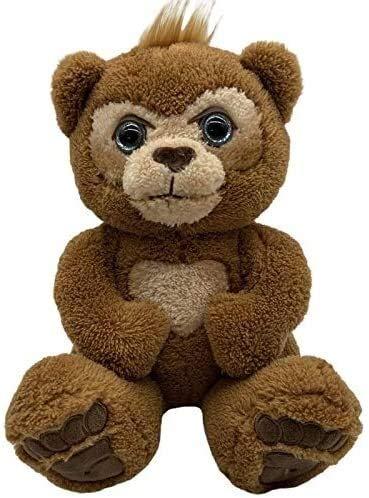 Fei Fei - Juguete suave de 24 cm con oso interactivo de peluche con música eléctrica para niños, cumpleaños o Navidad
