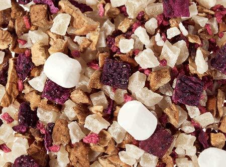 Früchteteemischung Zuckerstück, Zuckerwatte-Himbeere Note aromatisiert 1kg