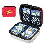Cpano Travel Carrying Card Case für Pokemon-Sammelkarten, Kartenspieletui für bis zu 400 Karten....
