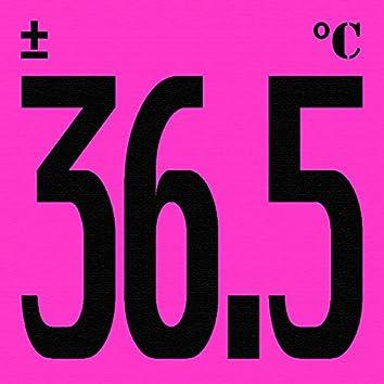 ±36.5°C