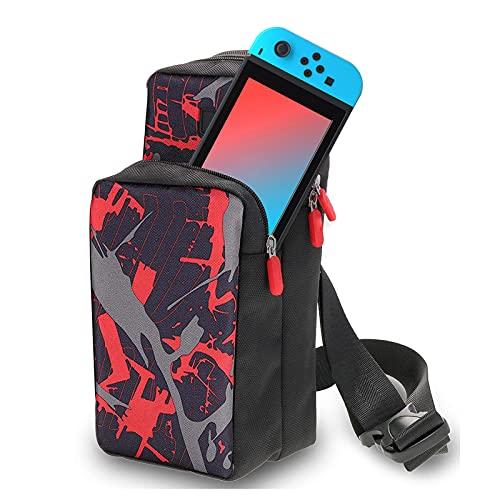 Bolsa de viaje para Nintendo Switch - LYCEBELL Mochila de al