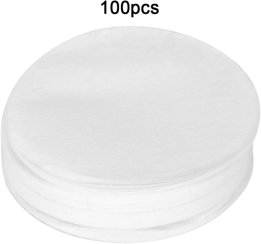 100 Pezzi 60 mm//68 mm per set di Filtri di Carta per Caff/è Filtro di Ricambio Filtri di Carta per Caff/è 6# 60mm Filtri di Caff/è Classici per Caffettiera