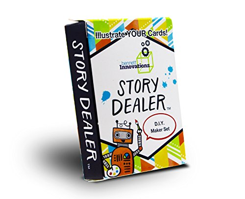 Story Dealer STEAM/STEM Games for Kids   D.I.Y Makerspace Edition   Educational and Fun Storytelling Cards to Start Creative Thinking Games.