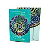 Tree-Free Greetings Holiday Note Cards and Envelopes, Winter Card Set, 5 x 7 Inch Cards, Winter Box Set of 10, Winter Mandala Blessing, (HB93545)
