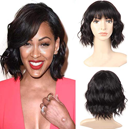 African american short human hair wigs _image0