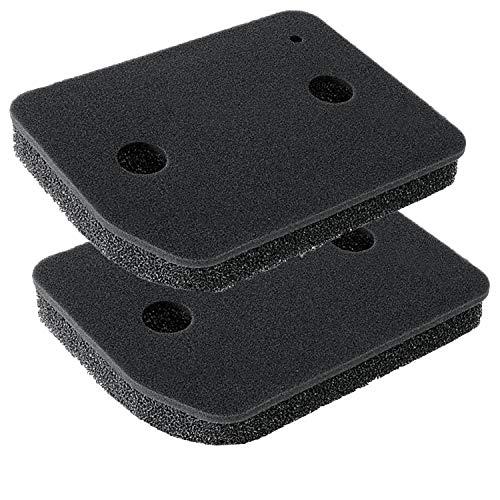 Schwammfilter für Miele 9164761 Wärmepumpentrockner Filter Trockner Kondenstrockner Filterschaum Schaumstoff Sockelfilter - 207 mm x 157 mm x 30 mm (2 Stück)