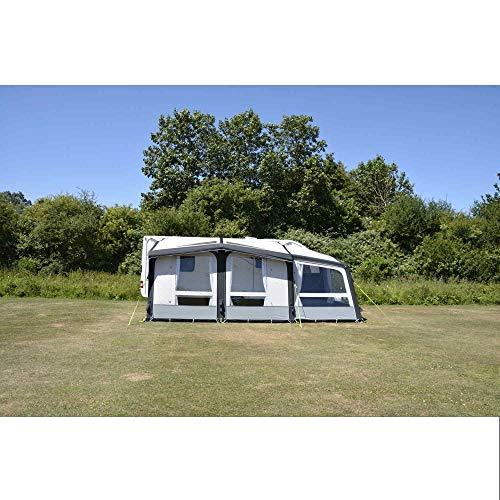 Kampa Club Air Pro 390 Plus rechts grau Wohnwagenvorzelt, Vorzelt, Abenteuer-Camping