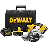 DEWALT DCS372KAR 5 1/2 inch 18 Volt Metal Cutting Cordless Circular Saw Kit (Renewed)