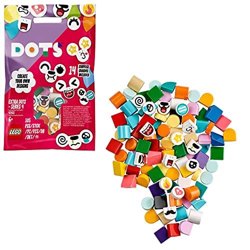 LEGO 41931 DOTS Extra DOTS Series 4 Tiles Set for Bracelets, Room Décor...