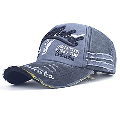 Shybuy Trucker Style Baseball Cap Hat Women Mens Vintage Distressed Hats Hip Cap