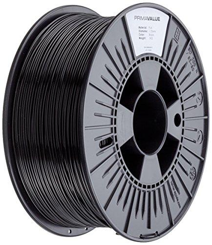 PrimaCreator PrimaValue 3D Drucker Filament - PLA - 1,75 mm - 1 kg - Schwarz