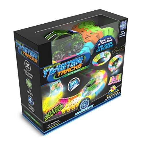 Mindscope Twister Tracks Neon Glow in...