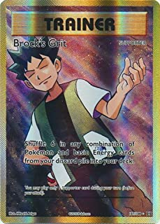 Pokemon - Brock39;s Grit (107/108) - XY Evolutions - Holo