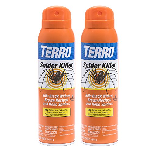 Terro 16 oz. Spider Killer Aerosol Spray - 2 Spray Bottles T2302-2