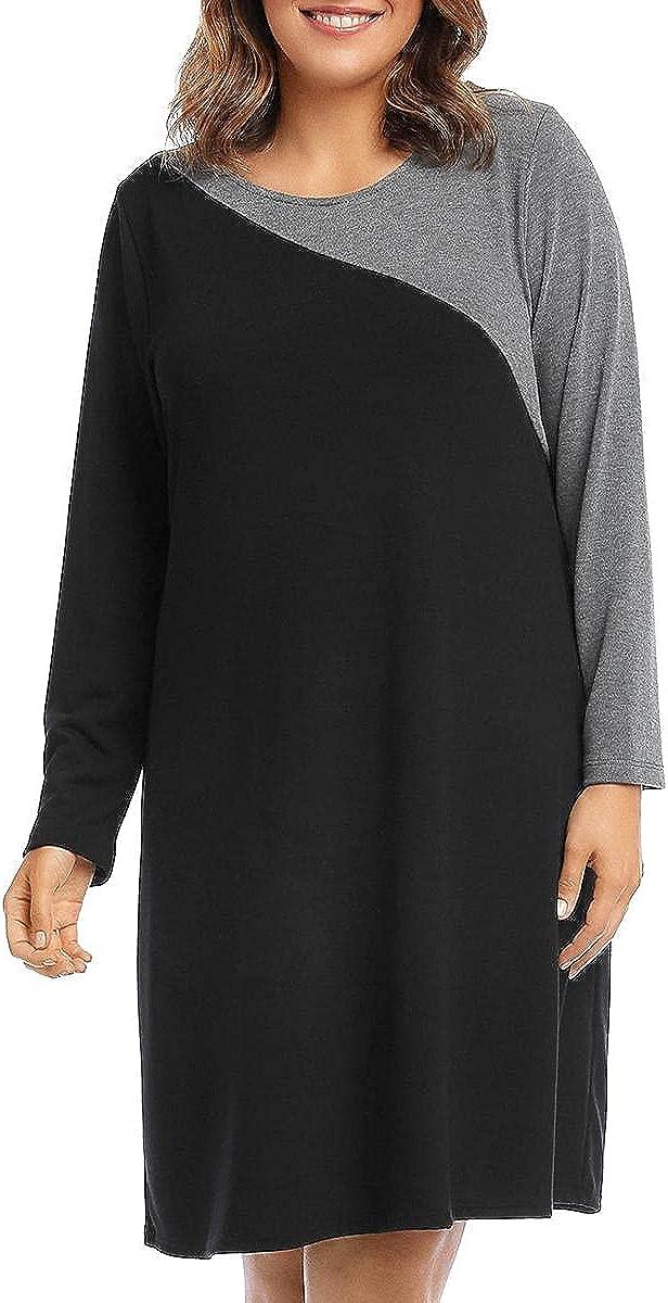 Karen Kane Women's Contrast Sweater Dress