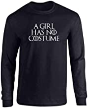 A Girl Has No Funny Halloween Costume Full Long Sleeve Tee T-Shirt