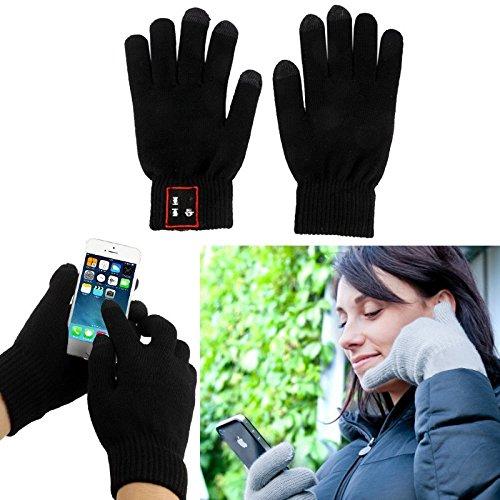 Kabellose Handschuhe mit Bluetooth-Verbindung - Originelles Geschenk - Smartphones - Kompatibler Touchscreen