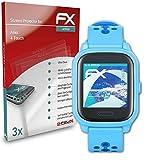 atFoliX Schutzfolie kompatibel mit Anio 4 Touch Folie, ultraklare & Flexible FX Bildschirmschutzfolie (3X)